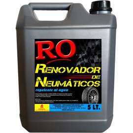 Renovador de Neumaticos (repelente al agua) Bidón 5 Lt.