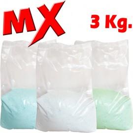 Detergente en Polvo MX Bolsa 3 Kg.