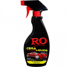 Cera Liquida para Autos Brillo Fácil Botella 500 ml.