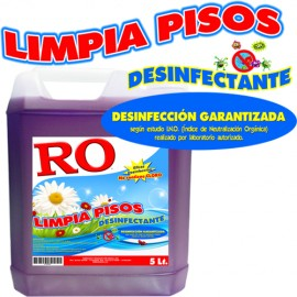 Limpia Pisos Desinfectante (bid 5 Lt)