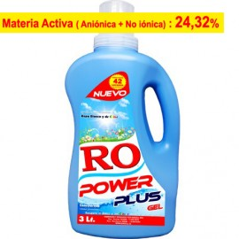 Detergente Líquido Power Plus Gel 3 Lt.