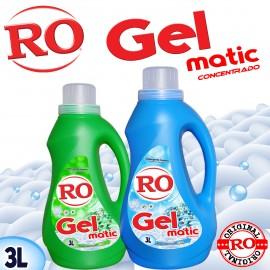 Detergente Líquido Gel Matic 3 Lt.