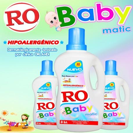 Detergente Líquido Baby Matic 3 Lt.
